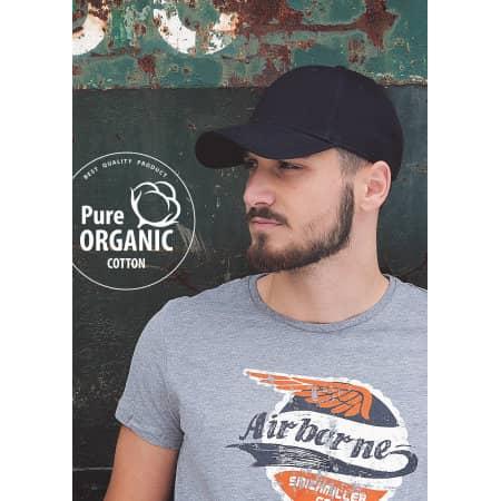 Organic Cotton Cap von Brain Waves (Artnum: BW7017