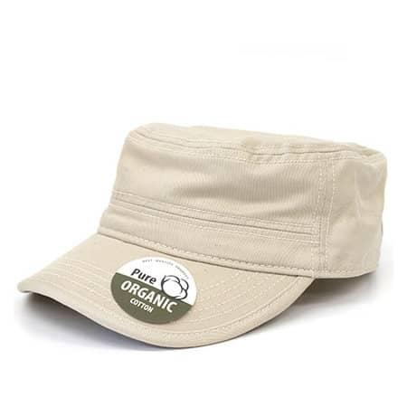 Organic Cotton Army Cap washed von Brain Waves (Artnum: BW7019
