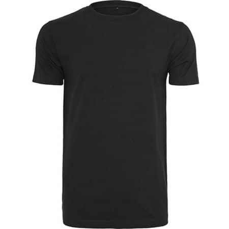 T-Shirt Round Neck in Black von Build Your Brand (Artnum: BY004