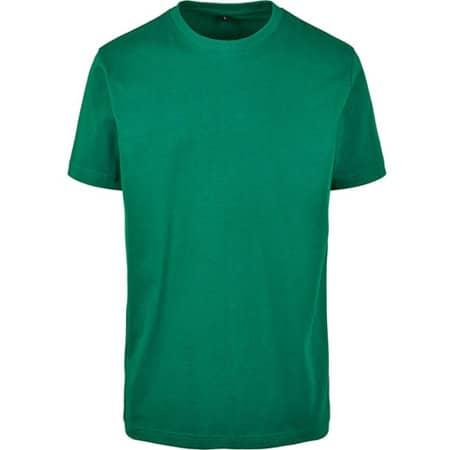 T-Shirt Round Neck in Forest Green von Build Your Brand (Artnum: BY004