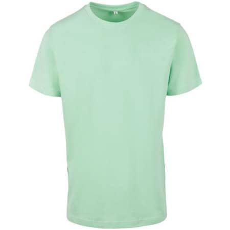 T-Shirt Round Neck in Neo Mint von Build Your Brand (Artnum: BY004