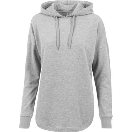 Ladies` Oversized Hoody von Build Your Brand (Artnum: BY037