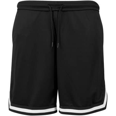 Two-tone Mesh Shorts von Build Your Brand (Artnum: BY047