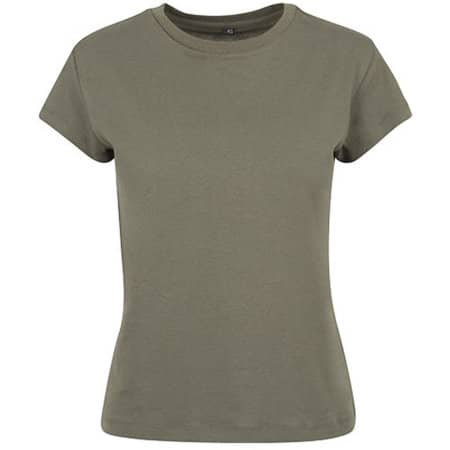 Ladies` Box Tee in Olive von Build Your Brand (Artnum: BY052