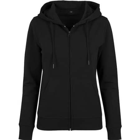 Ladies` Terry Zip Hoody von Build Your Brand (Artnum: BY069