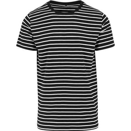 Stripe Tee von Build Your Brand (Artnum: BY073