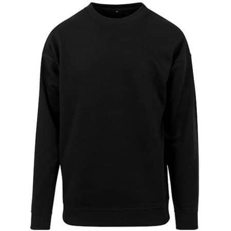 Sweat Crewneck in Black von Build Your Brand (Artnum: BY075