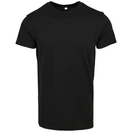 Merch T-Shirt in Black von Build Your Brand (Artnum: BY083