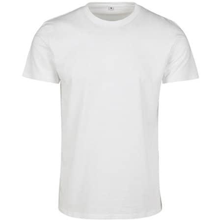 Merch T-Shirt in White von Build Your Brand (Artnum: BY083