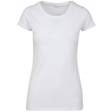 Ladies Merch T-Shirt in White von Build Your Brand (Artnum: BY086