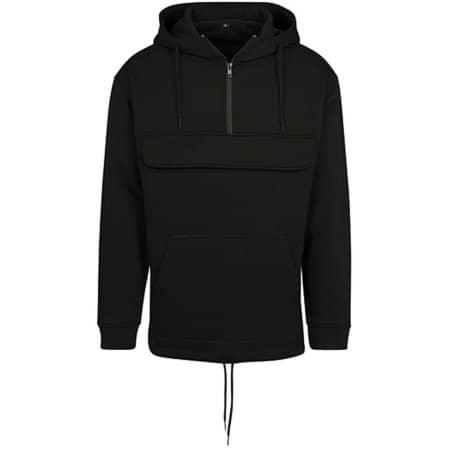Sweat Pull Over Hoody in Black von Build Your Brand (Artnum: BY098