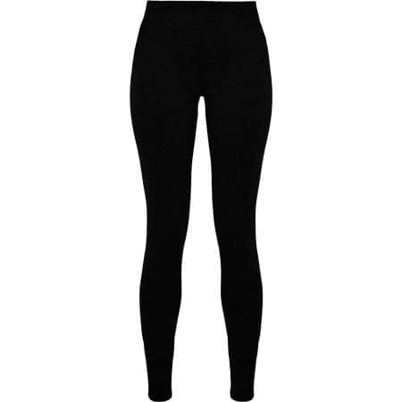 Ladies Stretch Jersey Leggings von Build Your Brand (Artnum: BY099