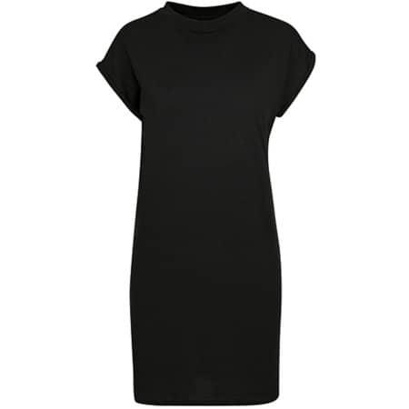 Ladies Turtle Extended Shoulder Dress in Black von Build Your Brand (Artnum: BY101