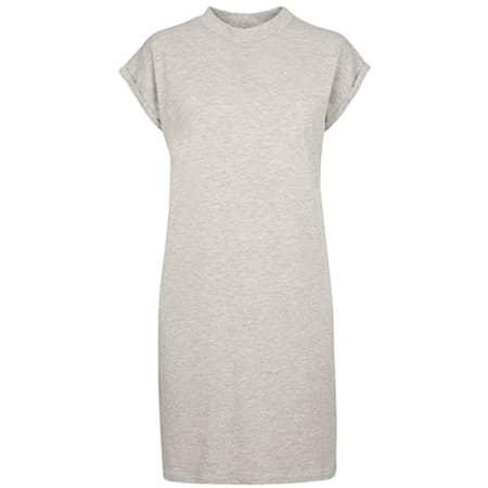 Ladies Turtle Extended Shoulder Dress in Heather Grey von Build Your Brand (Artnum: BY101
