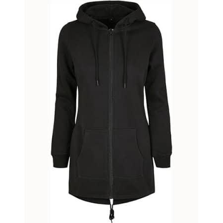 Ladies Sweat Parka in Black von Build Your Brand (Artnum: BY148