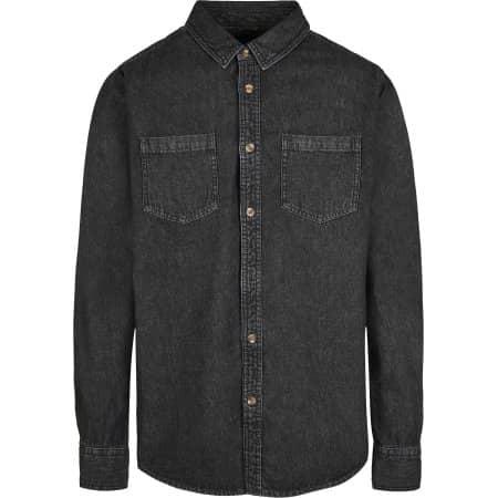 Denim Shirt von Build Your Brand (Artnum: BY152