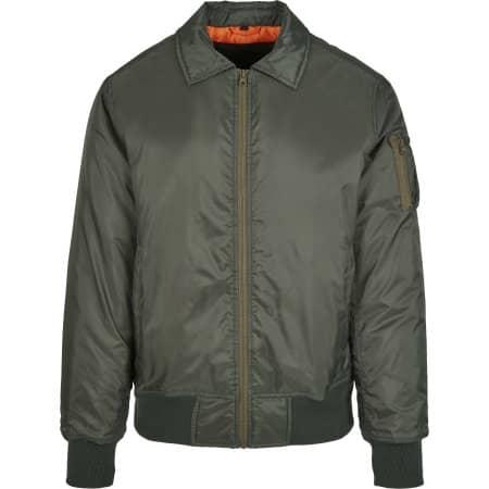 Collar Bomber Jacket von Build Your Brand (Artnum: BY157