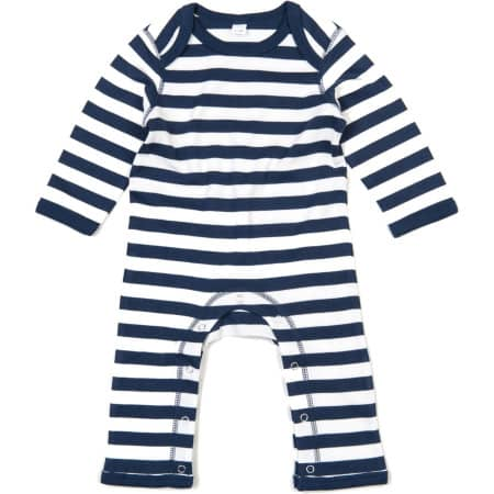 Baby Stripy Rompasuit von Babybugz (Artnum: BZ13S