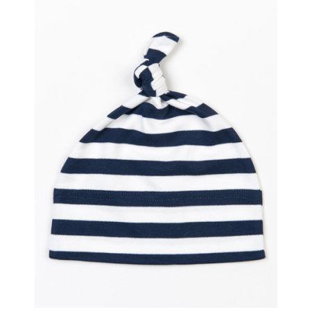 Baby Stripy One Knot Hat von Babybugz (Artnum: BZ15s