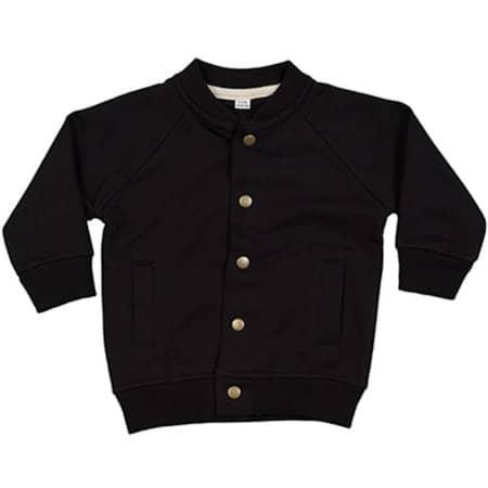 Baby Bomber Jacket in Black von Babybugz (Artnum: BZ40