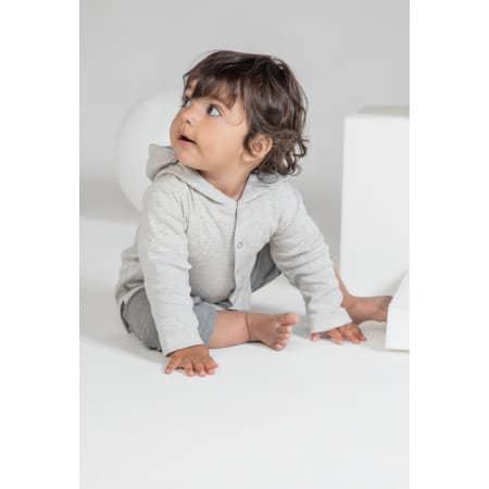 Baby Striped Hooded T von Babybugz (Artnum: BZ47