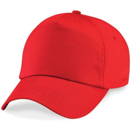 Original 5-Panel Cap in Bright Red von Beechfield (Artnum: CB10