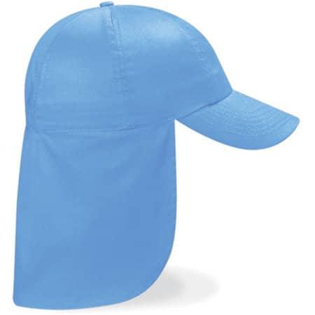 Junior Legionnaire Style Cap in Sky Blue von Beechfield (Artnum: CB11b