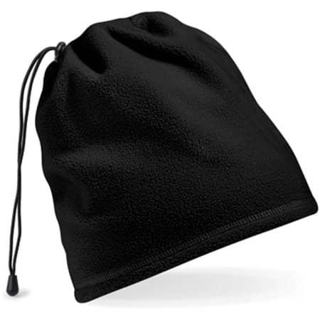Suprafleece™ Snood/Hat Combo in Black von Beechfield (Artnum: CB285
