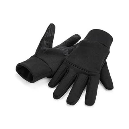 Softshell Sports Tech Gloves von Beechfield (Artnum: CB310