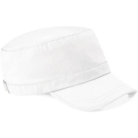 Army Cap in White von Beechfield (Artnum: CB34