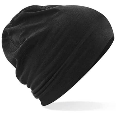 Hemsedal Cotton Beanie in Black Black von Beechfield (Artnum: CB366
