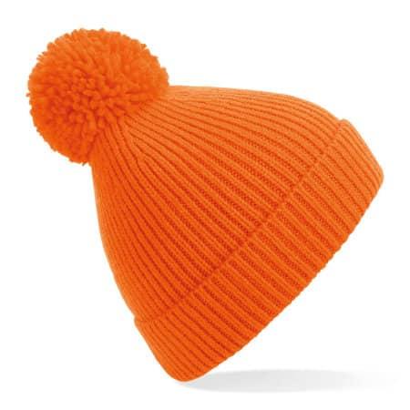 Engineered Knit Ribbed Pom Pom Beanie von Beechfield (Artnum: CB382