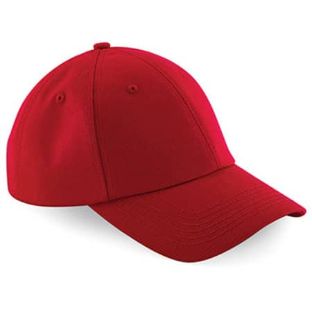 Authentic Baseball Cap in Classic Red von Beechfield (Artnum: CB59