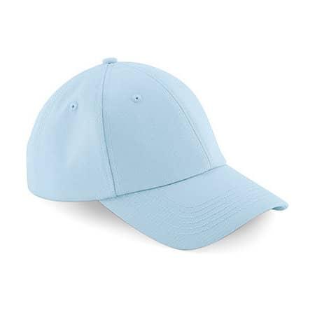Authentic Baseball Cap in Pastel Blue von Beechfield (Artnum: CB59