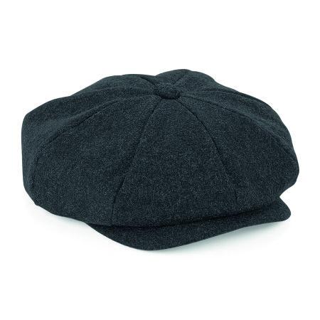Melton Wool Baker Boy Cap von Beechfield (Artnum: CB629