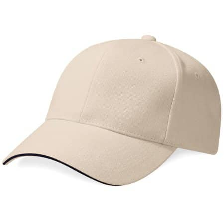 Pro-Style Heavy Brushed Cotton Cap von Beechfield (Artnum: CB65