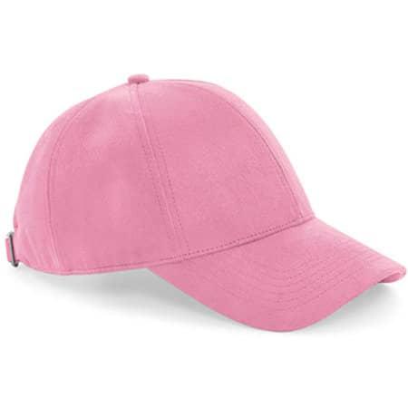 Faux Suede 6 Panel Cap in Dusky Pink von Beechfield (Artnum: CB656