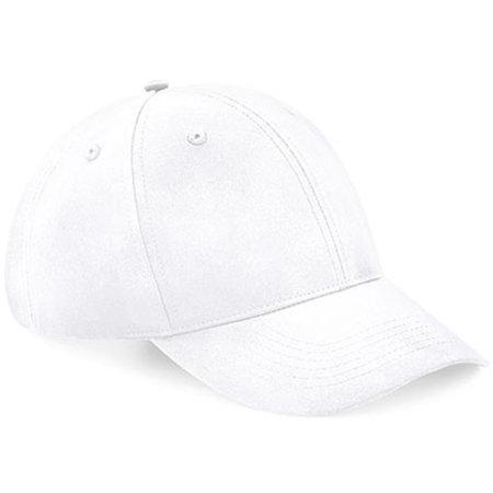 Recycled Pro-Style Cap in White von Beechfield (Artnum: CB70
