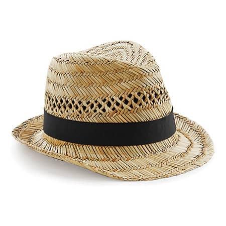 Straw Summer Trilby von Beechfield (Artnum: CB730