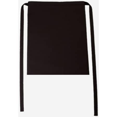 Bistroschürze Roma 50 x 78 cm in Black von CG Workwear (Artnum: CGW123
