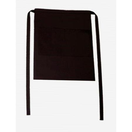Bistroschürze Roma Bag 50 x 78 cm in Black von CG Workwear (Artnum: CGW1262