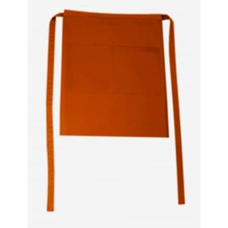 Bistroschürze Roma Bag 50 x 78 cm in Copper von CG Workwear (Artnum: CGW1262