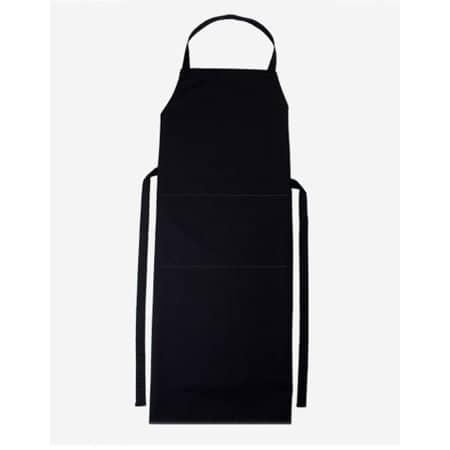 Latzschürze Verona 110 x 75 cm in Black von CG Workwear (Artnum: CGW130