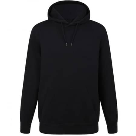 Unisex Heavy Pullover Hoodie in Black von Continental Clothing (Artnum: COR51P