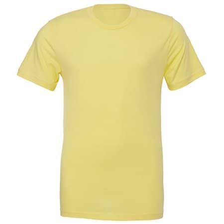 Unisex Jersey Crew Neck T-Shirt in Yellow von Canvas (Artnum: CV3001