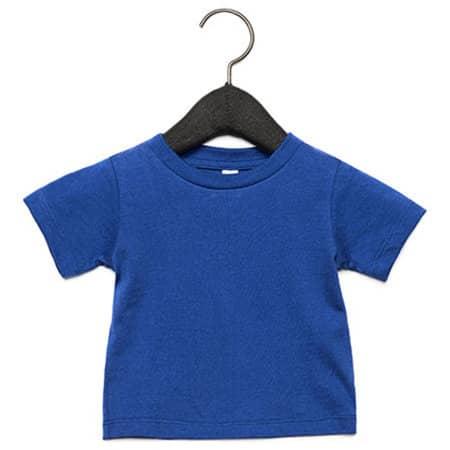 Baby Jersey Short Sleeve Tee in True Royal von Canvas (Artnum: CV3001B