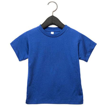 Toddler Jersey Short Sleeve Tee in True Royal von Canvas (Artnum: CV3001T