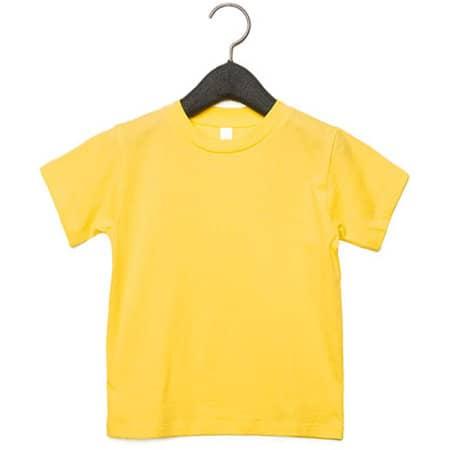 Toddler Jersey Short Sleeve Tee in Yellow von Canvas (Artnum: CV3001T