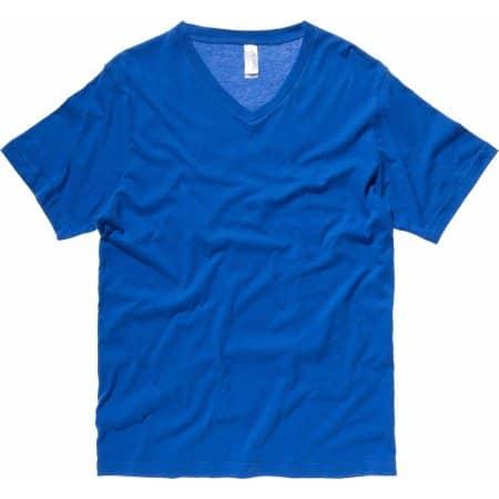 Jersey V-Neck T-Shirt von Canvas (Artnum: CV3005