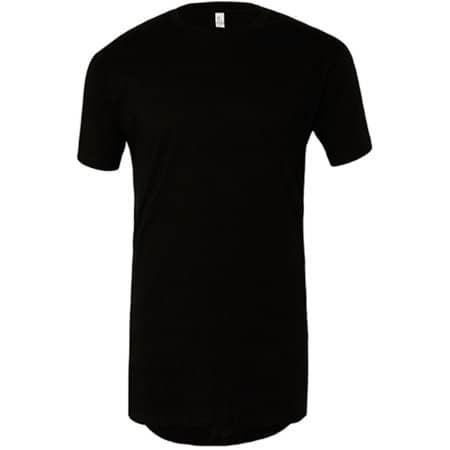 Men`s Long Body Urban Tee in Black von Canvas (Artnum: CV3006